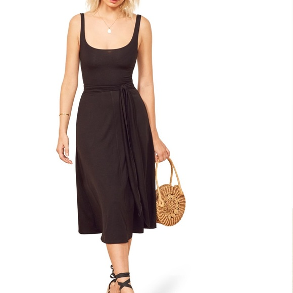 REFORMATION Jeans Dresses & Skirts - REFORMATION August Stretch Jersey Dress XS